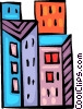 Office Buildings Vector Clipart illustration