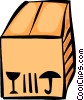 Vector Clipart picture  of a Crates