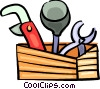 Pipes and tools Vector Clip Art image