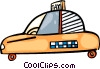 Vector Clipart image  of a Taxis