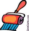 Vector Clip Art image  of a Paint Rollers
