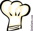 Vector Clip Art graphic  of a chef's hat