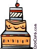 Cakes and Pastries Vector Clip Art picture