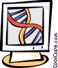 DNA Vector Clipart graphic