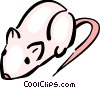 Vector Clipart graphic  of a Mice