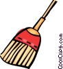Brooms Vector Clipart image
