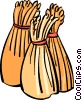 Vector Clipart picture  of a Unprocessed Grain