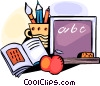 Vector Clipart picture  of a Chalkboards