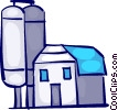 Barns and Farms Vector Clip Art image