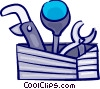 Vector Clip Art picture  of a Pipes and tools