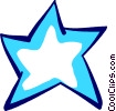 Vector Clipart image  of a Stars