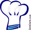 chef's hat Vector Clipart illustration