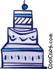 Cakes and Pastries Vector Clipart picture