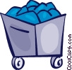 Coal Vector Clipart picture