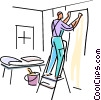 Painting and Renovation Concepts Vector Clip Art image