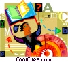 Educational Concepts Vector Clipart illustration