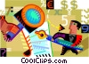 Business Contracts Vector Clipart picture