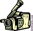 Video Cameras Vector Clipart picture
