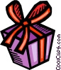 Vector Clipart graphic  of a Gifts and Presents