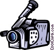 Video Cameras Vector Clipart illustration