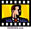 Businessmen Vector Clip Art image