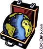Vector Clip Art image  of a Planet Earth