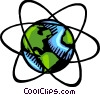 Planet Earth Vector Clip Art picture