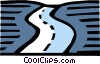 Roadways Vector Clipart illustration