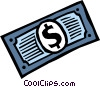 Dollars Vector Clipart graphic