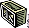 Crates, Boxes, Shipments Vector Clipart picture