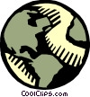 Planet Earth Vector Clipart image