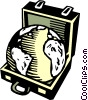 Planet Earth Vector Clipart graphic