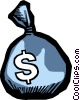 Money Bags Vector Clipart picture