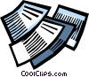 Documents Vector Clip Art graphic