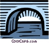Vector Clipart illustration  of a Bridges