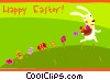 Vector Clipart illustration  of a Easter Greetings