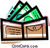 Wallets Vector Clipart graphic