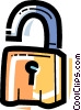 Keys and Locks Vector Clip Art image