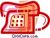 Vector Clip Art graphic  of a Home Phones