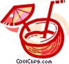 Cocktails and Mixed Drinks Vector Clipart picture