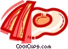 Bacon & Eggs Vector Clip Art picture
