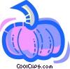 Vector Clip Art picture  of a Pumpkins