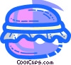 Hamburgers Vector Clipart picture