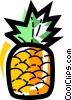 Vector Clipart graphic  of a Pineapples