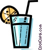 Vector Clip Art image  of a Cocktails and Mixed Drinks