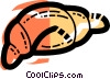 Croissants Vector Clipart graphic
