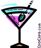 Vector Clipart graphic  of a Cocktails and Mixed Drinks
