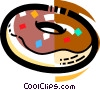 Vector Clip Art picture  of a Donuts