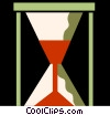 Hourglasses Vector Clipart picture