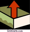 Vector Clip Art graphic  of a In-Boxes and Out-Boxes